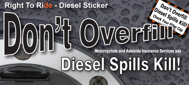 Don't Overfill - Diesel Spills