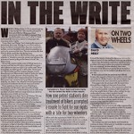 In The Telegraph – In The Write