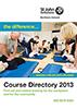 St John Ambulance Courses 2013