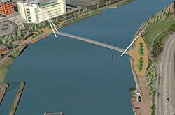 Lagan Footbridge Preferred Option pic 1-250