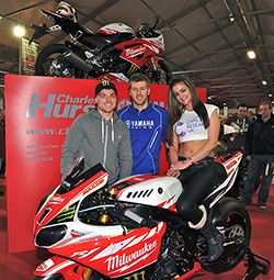 Sam Lowes and Ian Hutchinson at the 2013 Festival small