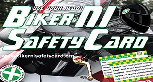 "Click For Biker NI Safety ""CRASH"" Card"
