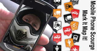 Mobile Phone Scourge - Mark It! - Map It!