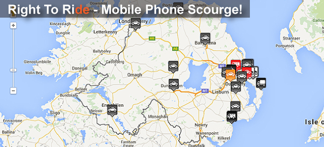 Mobile Phone Scourge - Mark It - Map It!