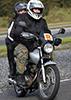 Motorcycling Kicking Back