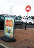 Sainsburys – Parking Up!